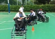 신규프로그램 휠체어축구 사진